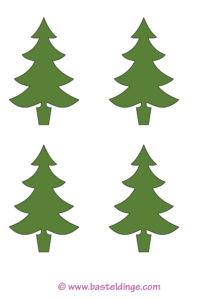 4x-tannenbaum-gruen