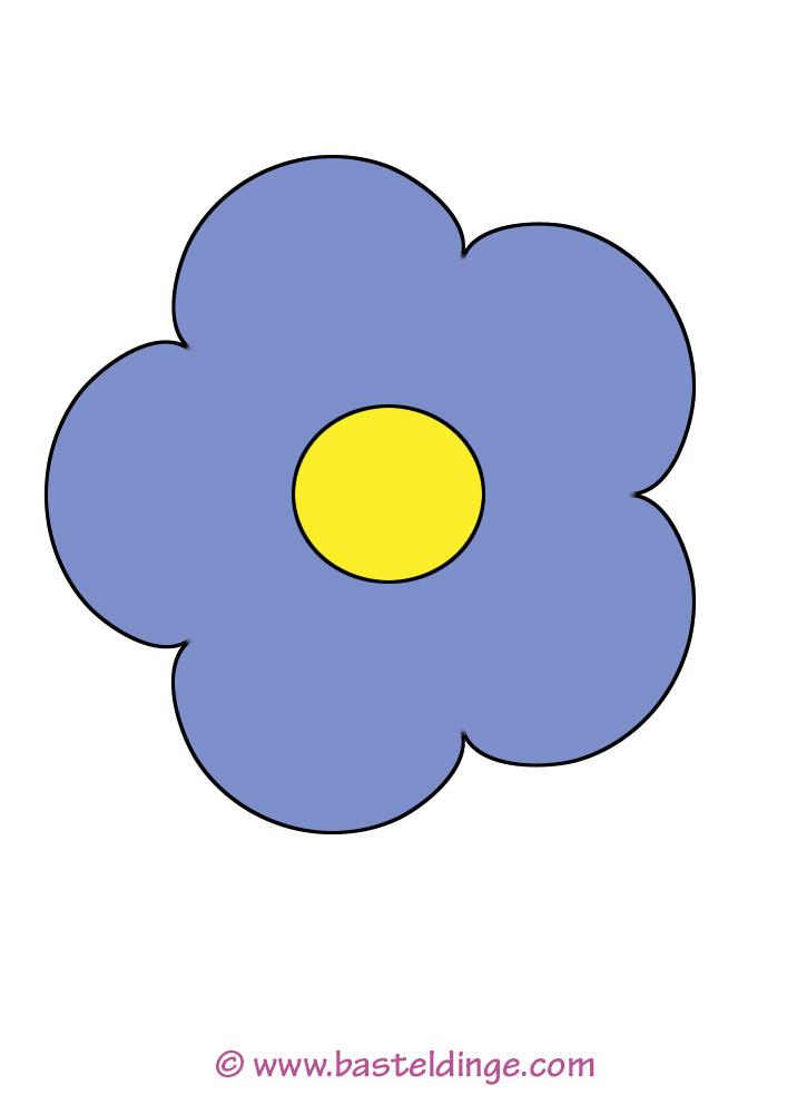 Blümchen Und Blumen Vorlagen Basteldinge