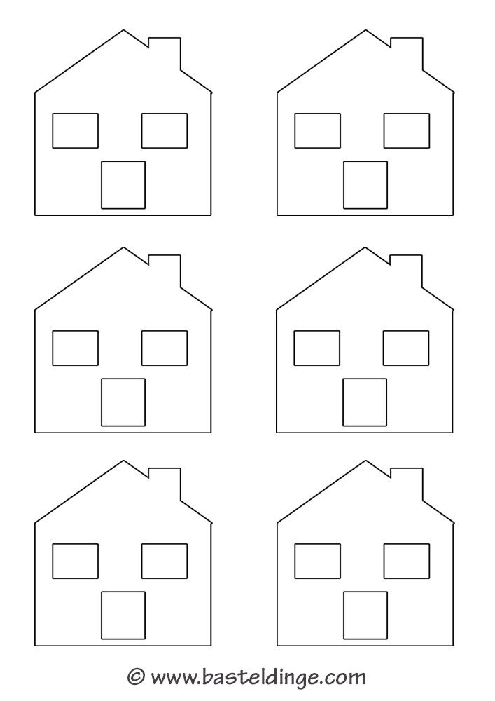 Fensterbilder h user vorlagen basteldinge for Vorlagen fensterbilder