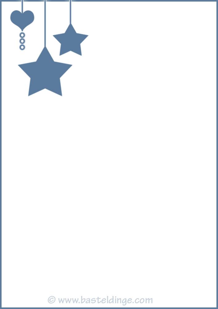 Weihnachtliches Briefpapier Fur Weihnachtsgrusse Basteldinge